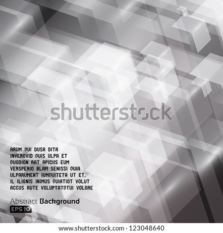 Colorful abstract arrows background - stock vector