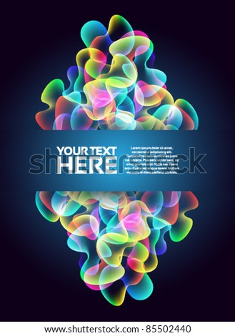 Colorful Abstract Background - stock vector