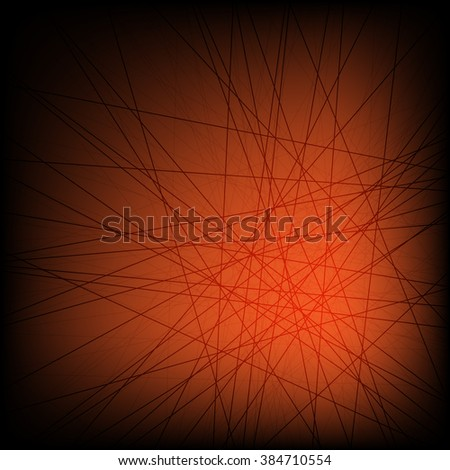 Colorful abstract background is created from lines. Simple elements of design for creation of more difficult ideas.