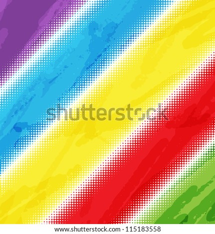 Colorful abstract background multicolored rainbow - stock vector