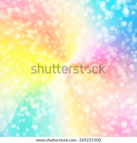 Colorful abstract background vector illustration - stock vector