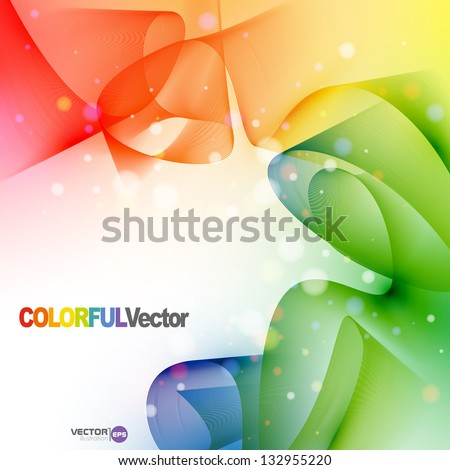 Colorful abstract background. Vector illustration. Eps 10. - stock vector