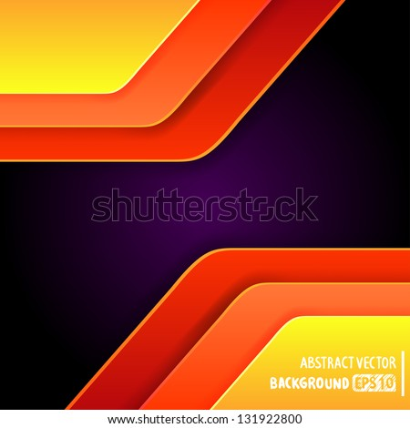 colorful Abstract background Vector illustration for your design - stock vector