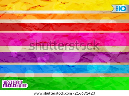 Colorful abstract background with bright stripes