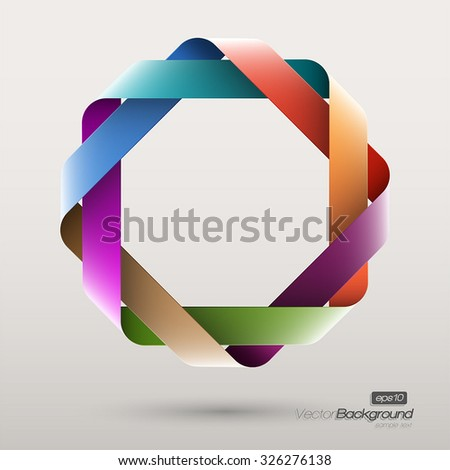 abstract geometric octagon shape - photo #1