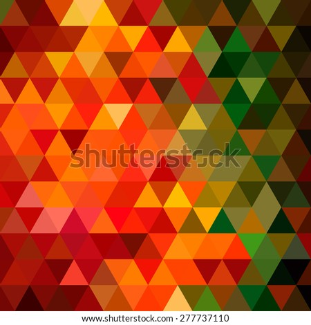 Colorful abstract geometric seamless pattern background with triangles and polygons shapes. Ideal for web and app template, book cover, fabric and wrapping paper design.  - stock vector