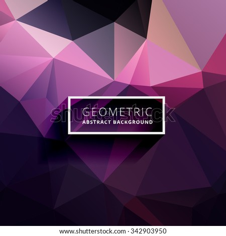 Colorful Abstract Poly Background