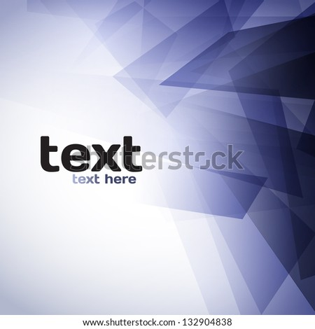 Colorful Abstract Shapes Background - stock vector