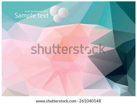 Colorful abstract vector backgrounds  - stock vector
