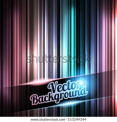 Colorful and shiny stripes  background. With place for your text.