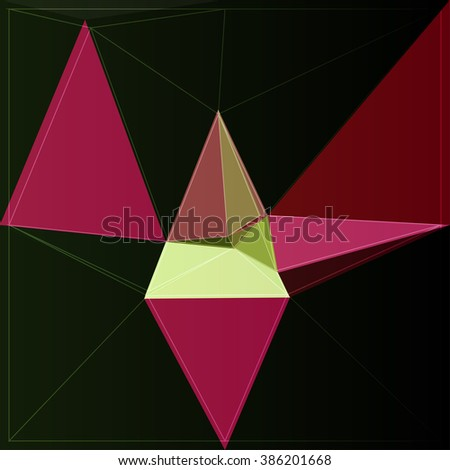 colorful art vector abstract background color shape