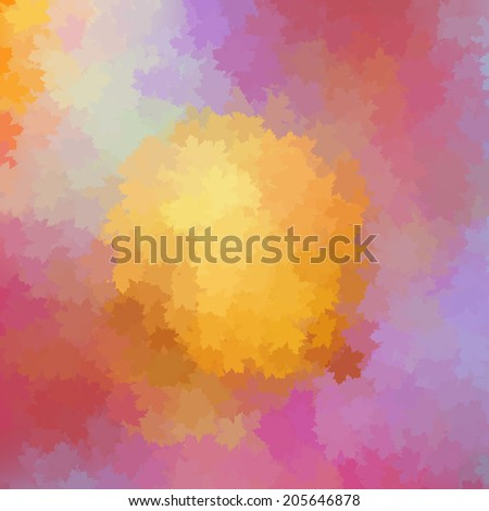 Colorful autumn background. Fall background with season pastel colors. plus EPS10 vector file - stock vector