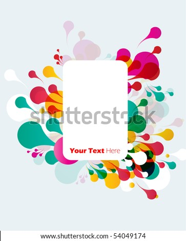 colorful background for text