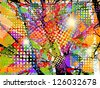 colorful background. vector - stock vector