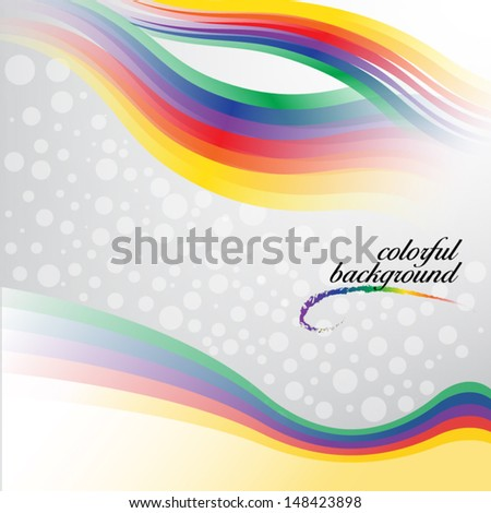 colorful background (vector, eps10 )