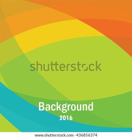 Colorful background with copy space - stock vector