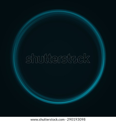 Colorful background with light effect. Green wallpaper.Vector. - stock vector