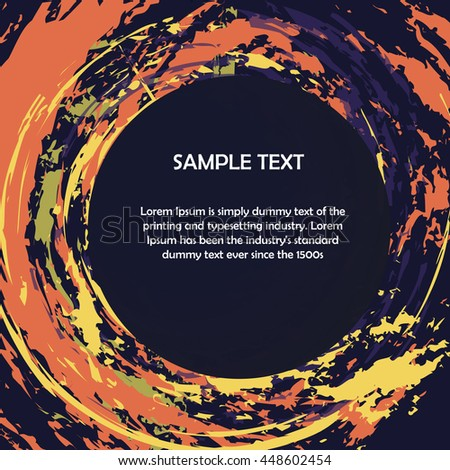 Colorful background with place for text. vector illustration eps10 - stock vector