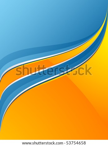 Colorful background with space for your message - stock vector