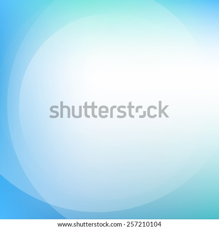 Colorful blue light abstract background - stock vector