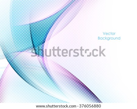 colorful bright vector background with copy space. Wavy lines, dotted texture. Eps10 - stock vector