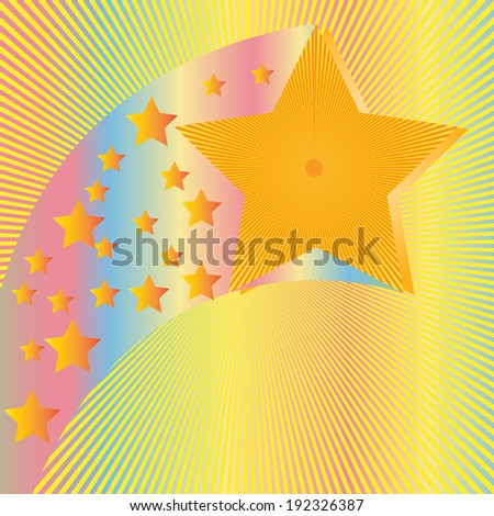colorful burst abstract background
