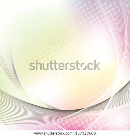 colorful business background with halftone, abstract vector illustration