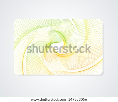 Colorful business card gift card discount stock vector royalty free colorful business card gift card discount card template layout with rainbow guilloche colourmoves