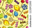 colorful candy background - stock vector