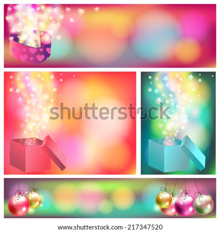Colorful celebration and sales ornament banner background, create by vector - stock vector