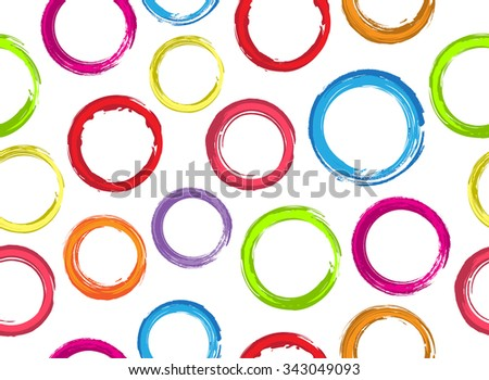 colorful circles background grunge circles pattern vector template rh shutterstock com grunge vector frame grunge vector art