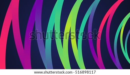 Colorful circles background, vector illustration