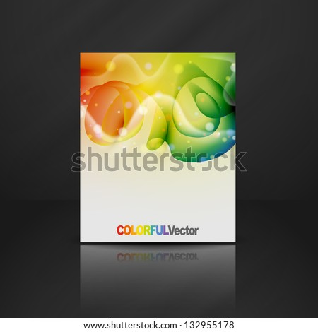Colorful design. Vector illustration. Eps 10. - stock vector