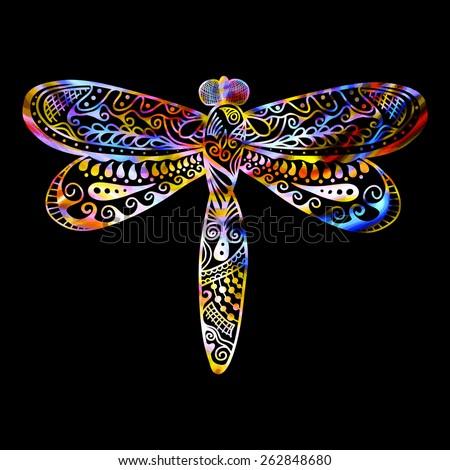 Dragonfly Stock Vectors & Vector Clip Art   Shutterstock