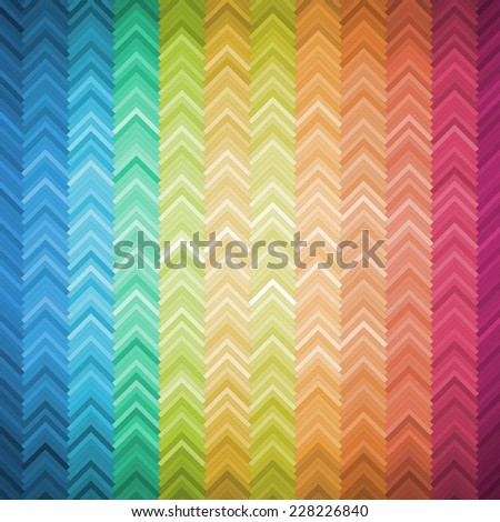 Colorful Geometric Background, vector eps 10 illustration - stock vector