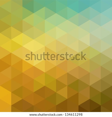 Colorful geometric background with triangles. Vector EPS 10. - stock vector