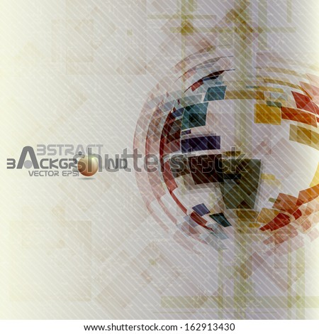 Colorful Globe Design. Vector Illustration. Eps 10. - stock vector