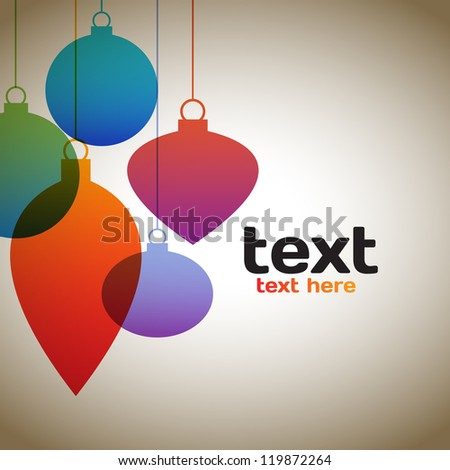 Colorful Holiday Background - stock vector
