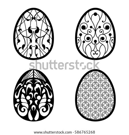 Colorful Illustration Background With Beautiful Easter Eggs Happy Vector Design