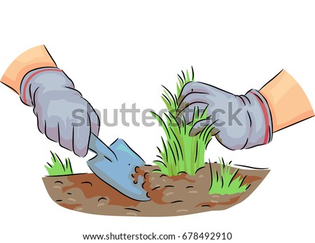 Pulling Weeds Stock Images Royalty Free Images Amp Vectors
