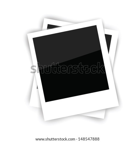 colorful illustration with frames for your design - stock vector