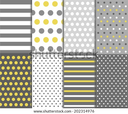 Colorful Jumbo Small Polka Dots Gingham Stock Vector ...