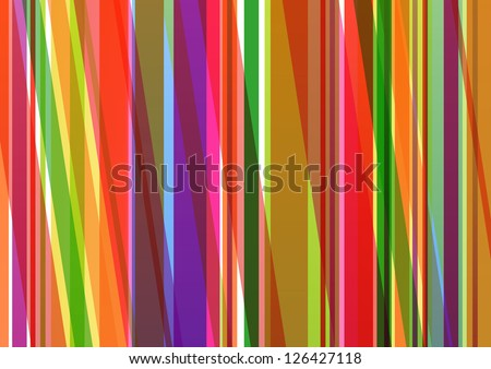 Colorful line background abstract illustration vector