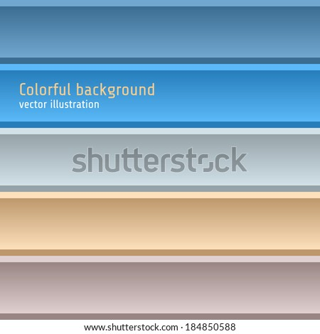 Colorful lines background. Vector illustration EPS10.