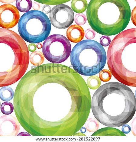 Colorful marble background. Seamless pattern.Vector.