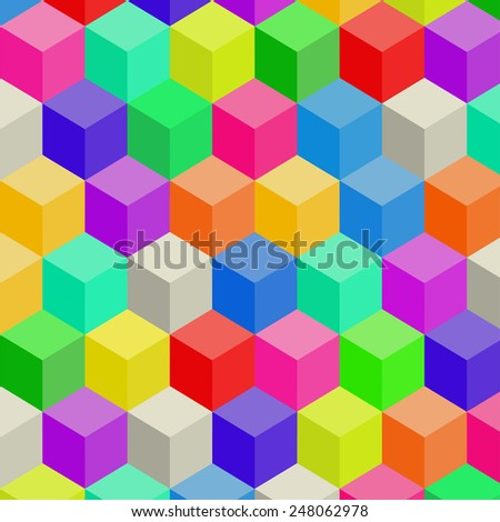 Colorful Modern Abstract business background. Vector illustration  - stock vector