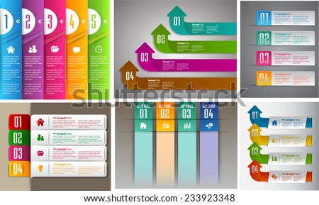 colorful modern text box template for website computer graphic and internet, numbers. Set of color frames for text or quotes. brochure. many. various.