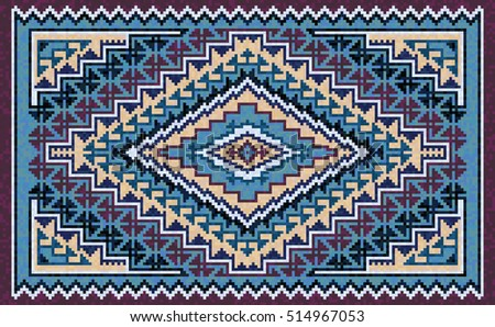 navajo rug designs two grey hills. Colorful Mosaic Navajo Rug With Traditional Folk Geometric Pattern. Native American Indian Blanket Designs Two Grey Hills M