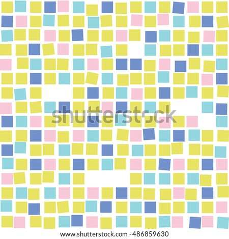 Colorful mosaic seamless pattern. Tile. Graphic background