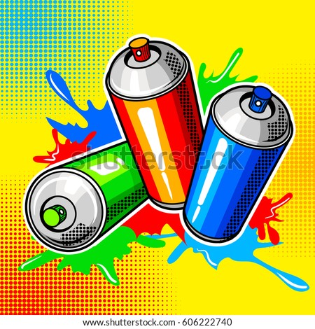 Spray Can Stock Images Royalty Free Images Vectors Shutterstock